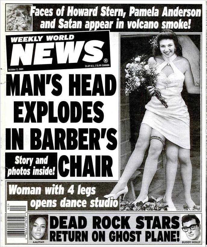 Man's Head Explodes in Barber's Chair - the Story Behind the Headline