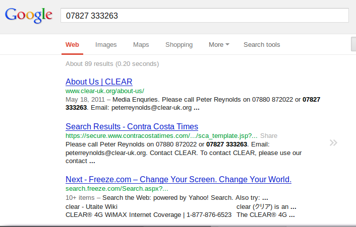 james clay phone number google Peter Reynolds and the Investigative Journalist Who Never Was