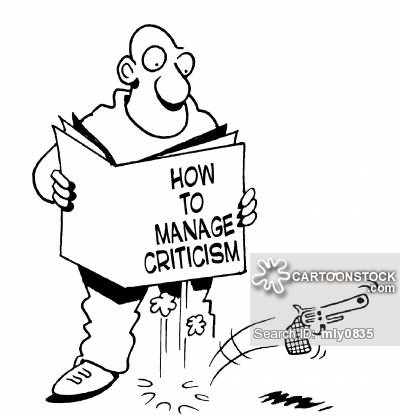 Cartoon: How to Deal with Criticism