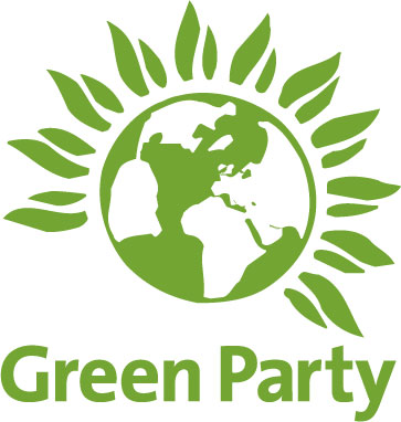 The Green Party logo.