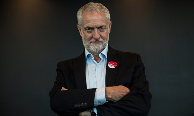 Jeremy Corbyn Promotional Image Election Campaign 2017