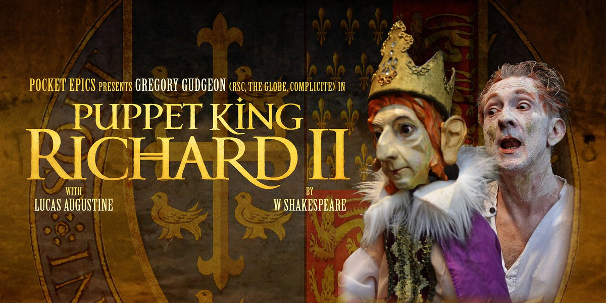 Shakespeare Slam: Puppet Richard II